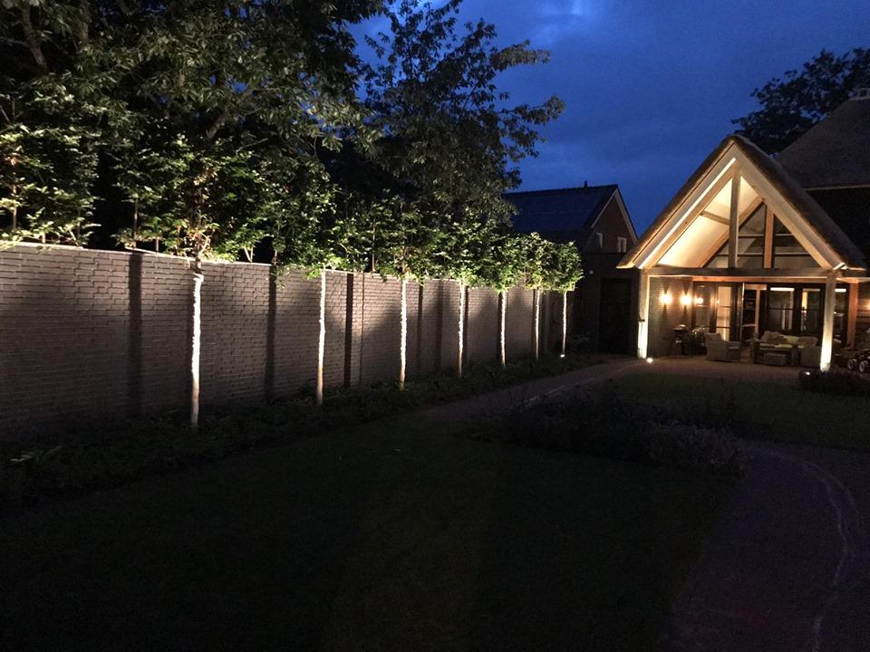 Aanleg van tuinverlichting in Deurne - 1