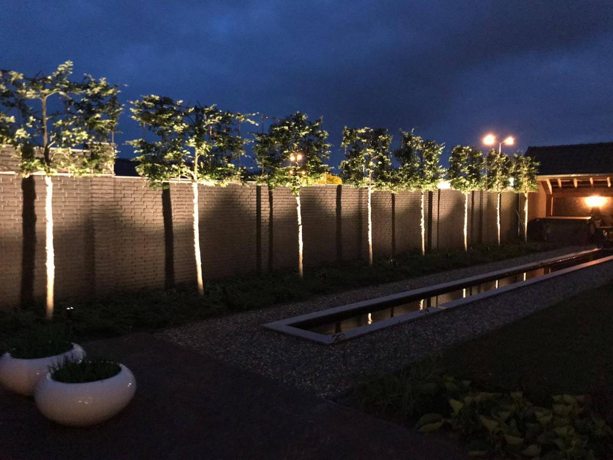 Aanleg van tuinverlichting in Deurne - 3