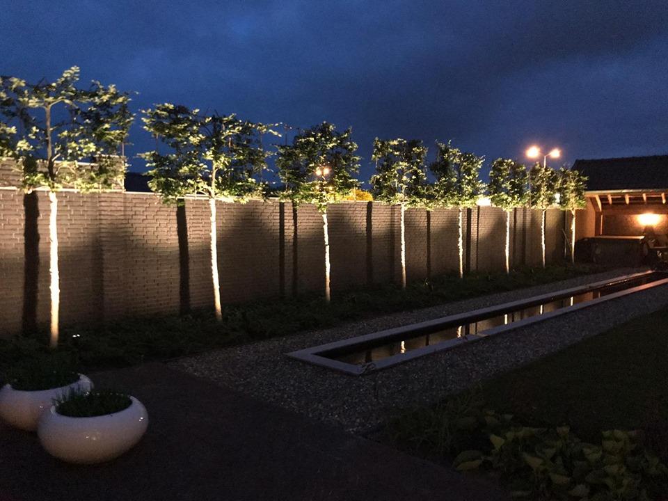 Aanleg van tuinverlichting in Deurne - 7
