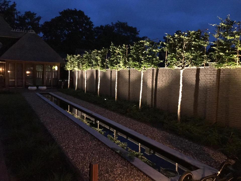 Aanleg van tuinverlichting in Deurne - 8