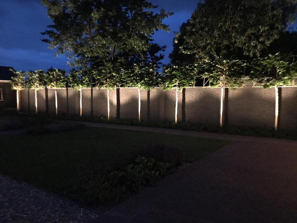 Aanleg van tuinverlichting in Deurne - 9